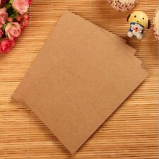20 Sheets Diy Blank Post Card Kraft Thick Double-sided paper word Sketch Doodle