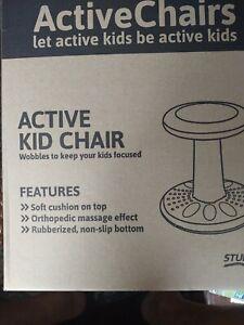Active Kids Chair by Studico – Wobble Chairs Juniors/Pre-Teens (Grades 3-7 Blue