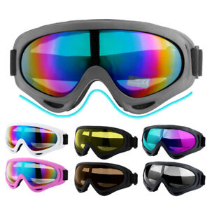 2Pack Snow Ski Goggles Men Women Anti-fog Lens Snowboard Snowmobile Motorcycle