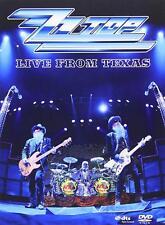 ZZ TOP LIVE IN TEXAS DVD REGION FREE DIGIPACK