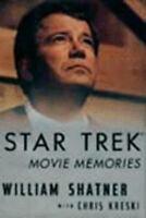 1994 Star Trek Movie Memories by William Shatner Hardcover Autobiography Book