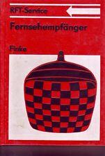 Fernsehempfänger/reich bebildertes Fachbuch/1981/RFT-Service/431 Bilder+1Tafel
