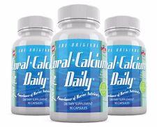 Coral Calcium Daily Original 1475mg 90 Veg cap Vitamin D3 Magnesium Supplement