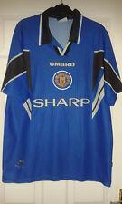 Mens Football Shirt - Manchester United - Third 1996-1997- Umbro Sharp - Size L