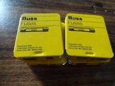 Five Bussmann Fusses GDC 1A,2A,3.15A,5A