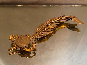 Palme d'honneur en métal doré Exposition d'Amiens 1886