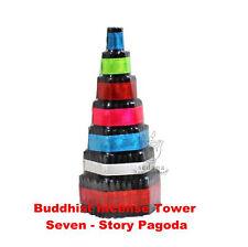 Buddhist Incense Tower Seven - Story Pagoda Buddhism Pray and Meditation