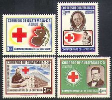 Guatemala 1958 Red Cross/Medical/Health/Welfare/Nurses/Doctor/Bird 4v set n37220