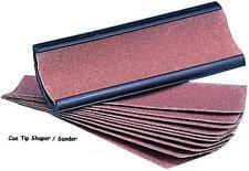 Cue Tip Shaper / Sander / File & 10 Free Sandpaper Refills