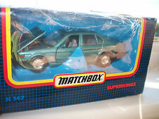 MATCHBOX-BMW 750iL- SUPERKINGS WITH BOX