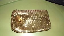 VINTAGE MESH BAG GOLD CLUTCH PURSE