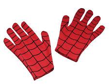 Spider-Man Gloves Spiderman Superhero Dress Up Halloween Child Costume Accessory
