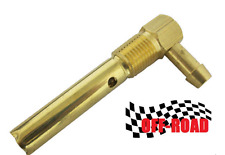 Aluminum gas tank 3/8 NPT Safety Rollover Brass Vent Valve