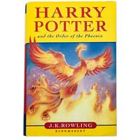 Harry Potter and the Order of the Phoenix Hardback First Edition Book JK Rowling