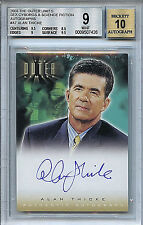 The Outer Limits A7 BGS 9.0 (9) Mint Alan Thicke Autographed Ltd Card 9/10 7426