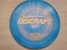 Discraft Esp Zone Blue & Pink Swirl - Rose Gold Glitter Stamp - 173-174g - New