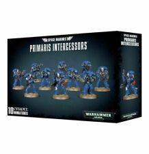 Games Workshop 99120101190 Space Marines Primaris Intercessors Citadel Minatures - Pack of 10