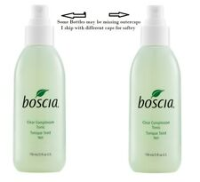 Lot of 2 Boscia Clear Complexion Tonic - 5 oz each