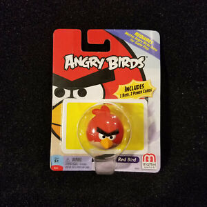 Angry Birds RED BIRD Figure 2 Power Cards Game Extra Replacement Piece Mattel