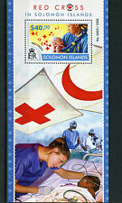 Solomon Islands 2015 MNH Red Cross 1v S/S Medical Health