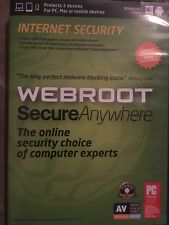 Webroot Software SecureAnywhere Internet Security Plus 2013 for PC, Mac (3 Devi…
