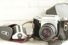 Pentacon Six TL Meduim Format Camera with Zeiss Biometar 80mm 2.8 and Case N6335