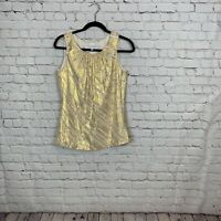 Trina TURK Tank Top Blouse Womens Size Small Silk
