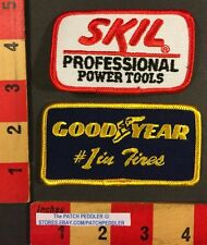 Car Tire Advertising Patch & Skil Power Tools For Garage Uniform Good Year 55X