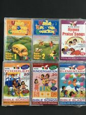 The Ultimate Kids Song Collection Toddler Bible Songs Sunday Cassettes Lot New