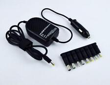 80W FUJITSU UNIVERSAL NOTEBOOK LAPTOP CHARGER DC CAR ADAPTER UK