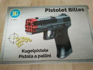 1x     Kugelpistole ( Plastikkugeln) 0,08Joule NEU   Pistole  ca.20 cm