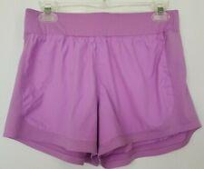 Athleta Go The Distance Womens Shorts Small Purple Lavender