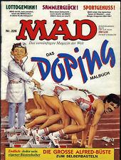 MAD Nr.226 von 1989 - TOP Z1 ORIGINAL BSV COMICHEFT Satire Alfred E. Neumann
