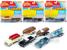 """HULLS & HAULERS"" SERIES 1, SET A OF 3 CARS 1/64 BY JOHNNY LIGHTNING JLBT011 A"