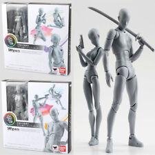 KUN+CHAN DX GRIGIO VER 2 Pezzi NIB SHFiguarts He She Body Action Figuras Figures