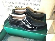 07's B China PLA Army,Navy,Air Force Officer Full Dress Cattle Leather Shoes