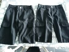 Next Black School Shorts Fit Age 10 Years Qty 3