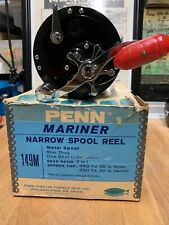 Penn 149 M Vintage Fishing Reel Wih Original Box