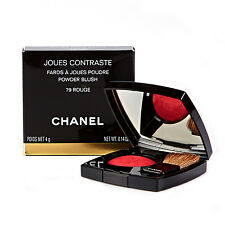 Chanel Joues Contraste Powder Blush Red Blusher 79 Rouge - New