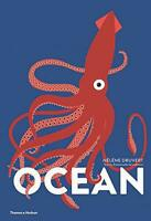 Ocean (Lift the Flap Book) by Emmanuelle Grundmann,Hélène Druvert, NEW Book, FRE