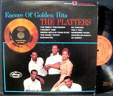 "The Platters ""Encore of Golden Hits"" Mercury Lp EX Condition Twilight Time, etc"