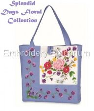 SPLENDID DAYS FLORAL COLLECTION - MACHINE EMBROIDERY DESIGNS ON CD OR USB