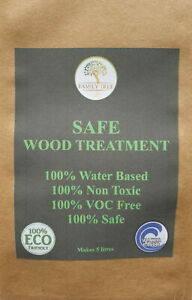 SAFE WOOD TREATMENT *30% OFF SPECIAL PRICE*  The SAFE way to treat your wood