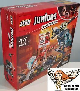 LEGO NEW 10759 Elastigirl's Rooftop Pursuit Juniors Easy to Build (2018)
