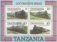 Timbres Trains Tanzanie BF41 ** lot 24614