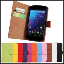 Custodie portafogli in pelle LG per cellulari e palmari