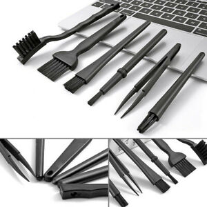 6 In 1 Mini Computer Keyboard Cleaner PC Laptop Brush Dust Easy Cleaning Kit Set
