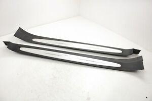 MERCEDES SL500 R230 DOOR STILL STRIP TRIM COVER SET A2306800435 / A2306800335