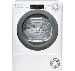 sèche-linge pompe à chaleur avec condenseur 60cm 10kg blanc - candy