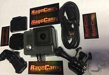 GoPro HD Hero Grey Camera Action Cam Camcorder CHDHA-301 MINT+16GB Micro SD Card